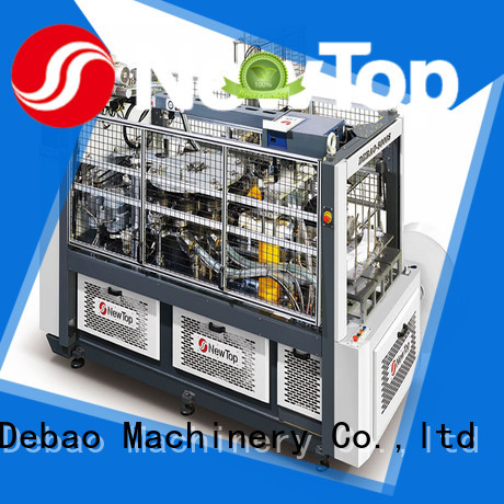 New Debao Machinery paper tea cup machine price for sale for super market