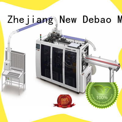 New Debao Machinery automatic debao paper cup machine manufacturing for coffee cup