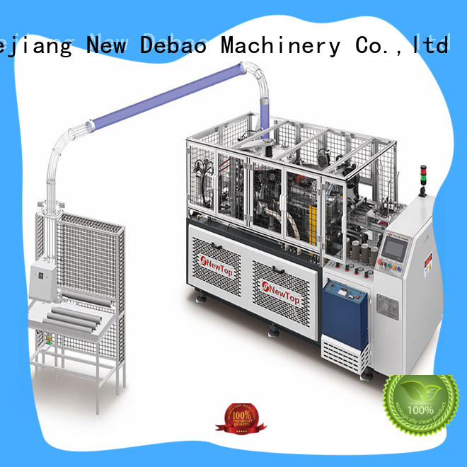 New Debao Machinery sleeve high speed paper cup machine manufacturing for coffee cup