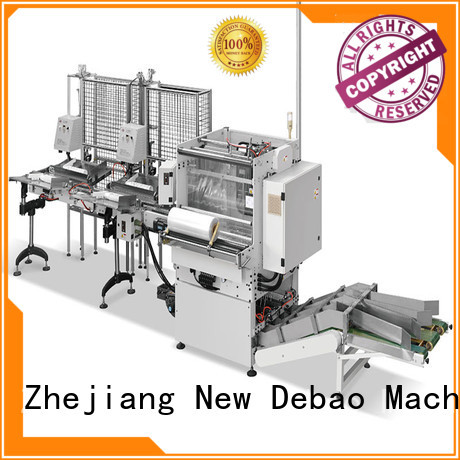 New Debao Machinery paper cup packing machine factory for paper cup