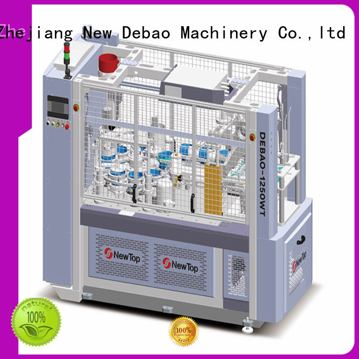 New Debao Machinery high paper bowl sleeve machine for sale for paper cup