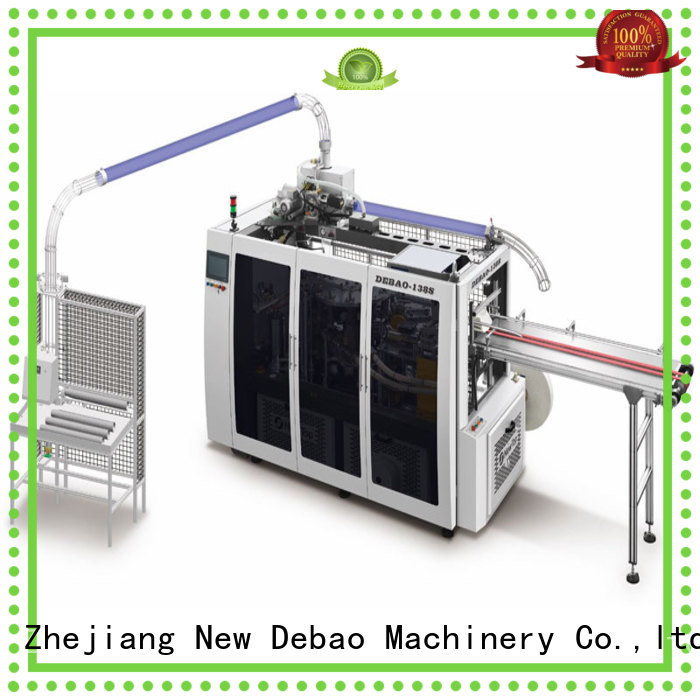 New Debao Machinery fully automatic paper cup machine manufacturing for super market