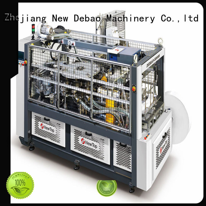 New Debao Machinery high automatic paper cup machine manufacturing for paper cup