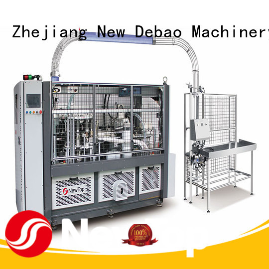 New Debao Machinery disposable paper bowl machine manufacturing for coffee cup