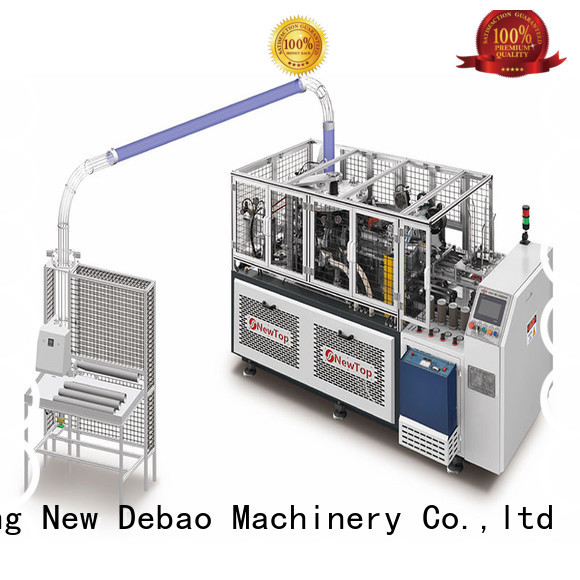 New Debao Machinery disposable automatic paper cup machine manufacturing for coffee cup