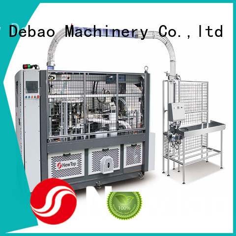 New Debao Machinery fully automatic paper cup making machine price for coffee cup