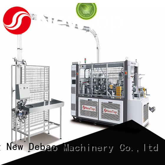 New Debao Machinery high disposable cup making machine manufacturing for coffee cup