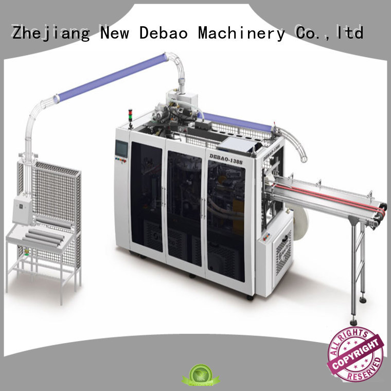 New Debao Machinery sleeve paper cup machine china manufacturing for coffee cup