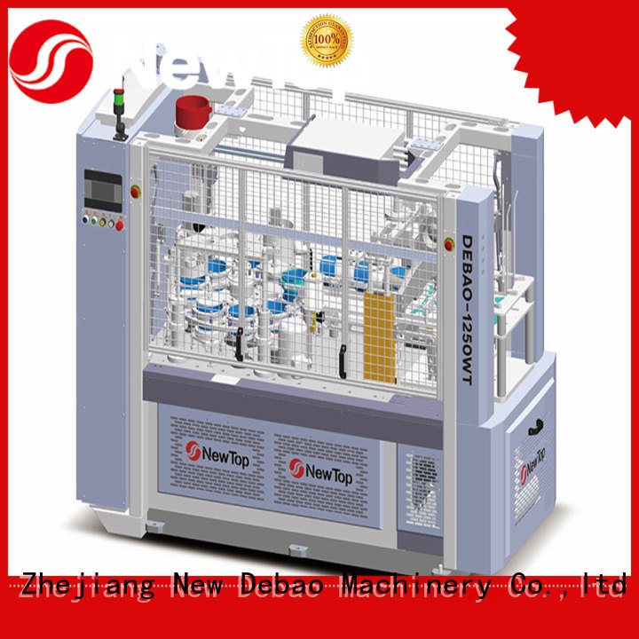 New Debao Machinery paper bowl sleeve machine factory for paper cup