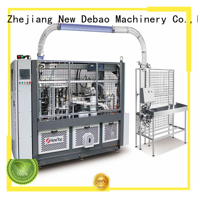 New Debao Machinery speed low price paper cup machine manufacturing for paper cup