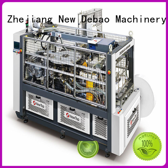 New Debao Machinery sleeve disposable cup making machine price for paper cup