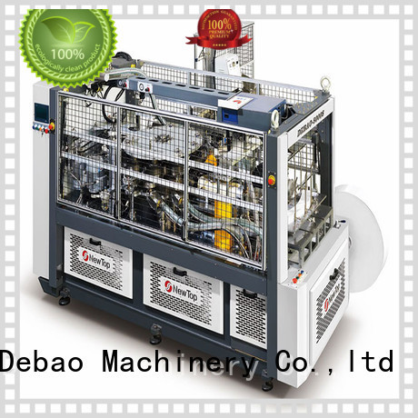 New Debao Machinery paper cup forming machine manufacturing for super market