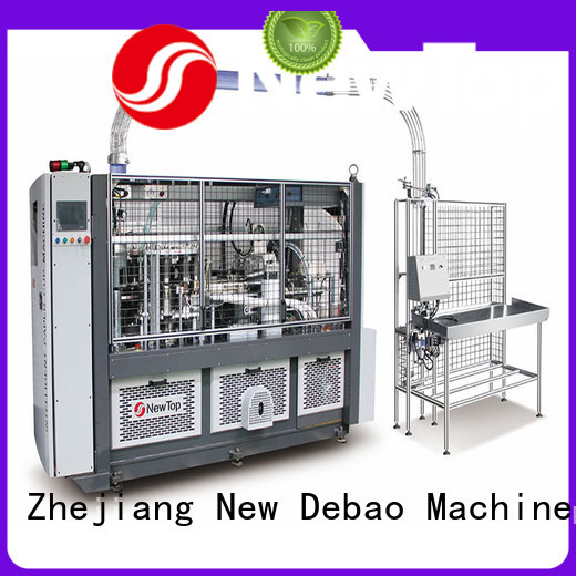 New Debao Machinery sleeve debao paper cup machine for sale for paper cup