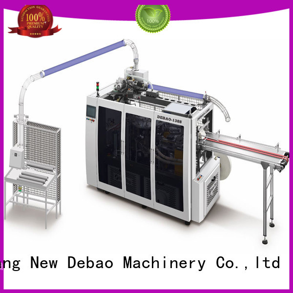 New Debao Machinery intelligent fully automatic paper cup machine for sale for coffee cup