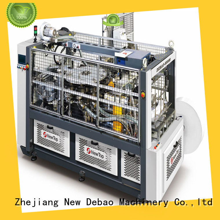 New Debao Machinery high low price paper cup machine for sale for super market