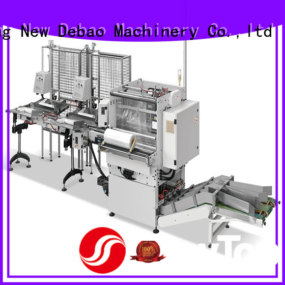 New Debao Machinery speed paper packaging machine price for coffee cup