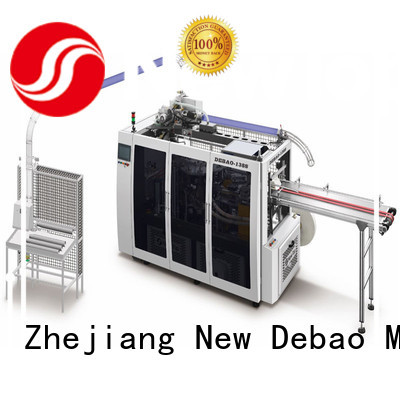 New Debao Machinery speed paper cup making machine china price for coffee cup