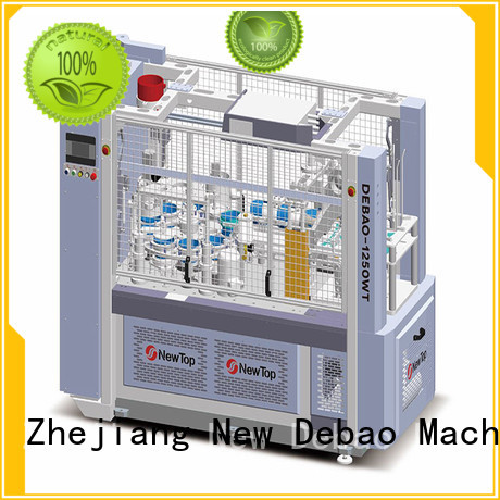 New Debao Machinery paper cup machine
