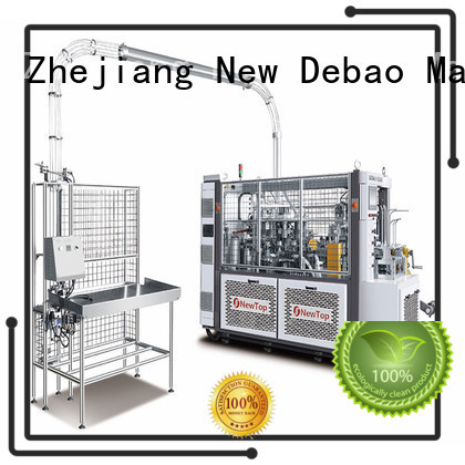 New Debao Machinery automatic fully automatic paper cup machine price for super market