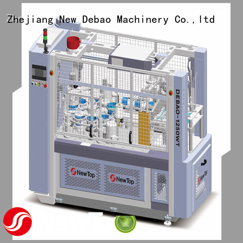 New Debao Machinery hollow cup machine factory for coffee cup