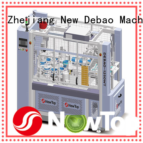 New Debao Machinery double wall paper cup making machine factory for super market