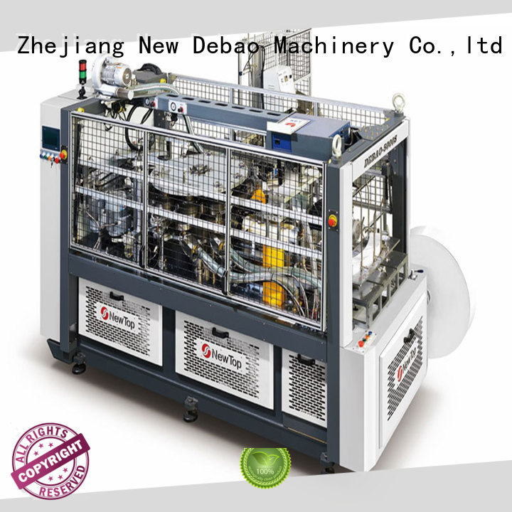 New Debao Machinery disposable cup making machine for sale for coffee cup