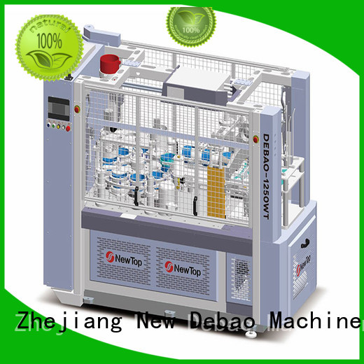 automatic double wall paper cup machine factory for super market