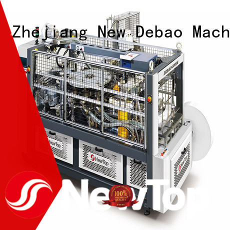 New Debao Machinery speed fully automatic paper cup machine manufacturing for coffee cup