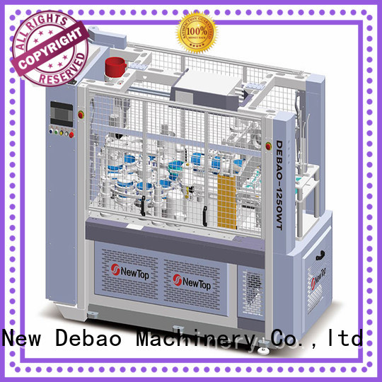 New Debao Machinery ripple ripple cup machine factory for paper cup