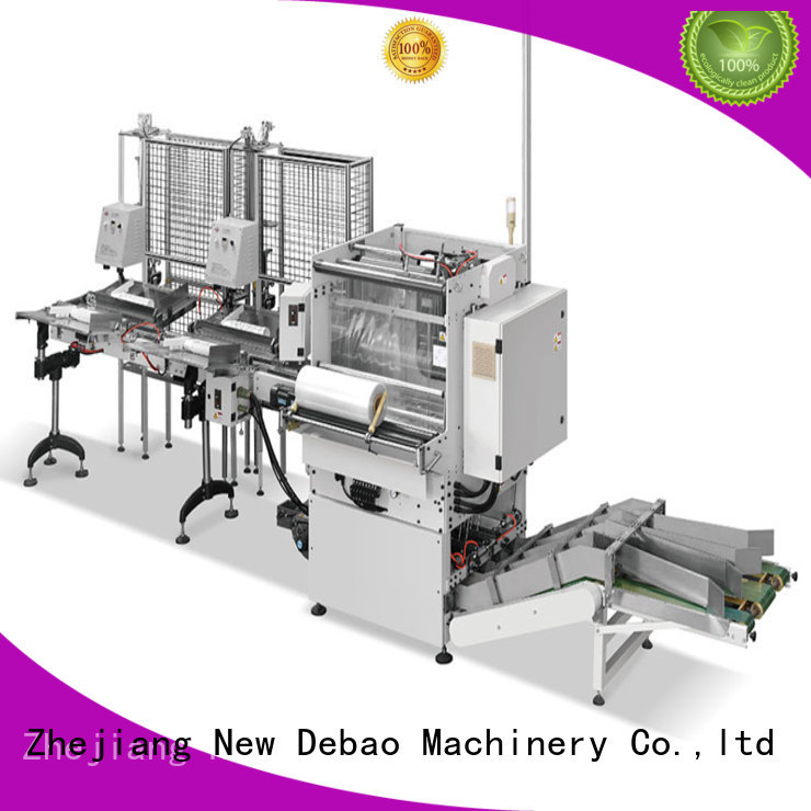 New Debao Machinery speed packing machine for sale for coffee cup