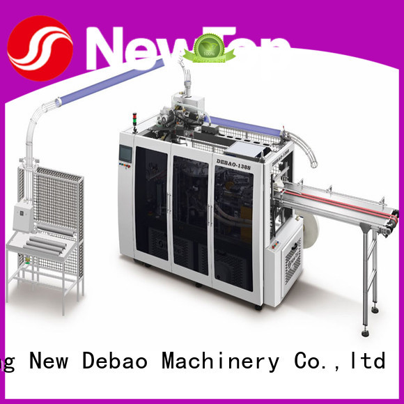 New Debao Machinery intelligent paper bowl machine price for coffee cup