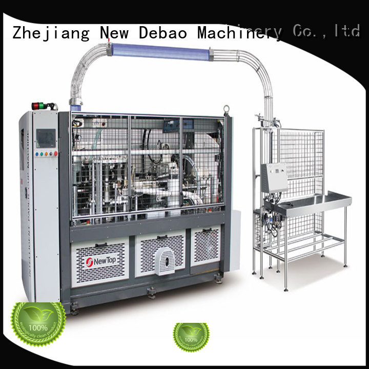 New Debao Machinery disposable coffee cup making machine price for sale for paper cup