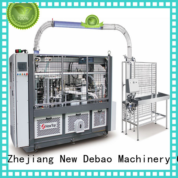 New Debao Machinery intelligent fully automatic paper cup machine manufacturing for super market