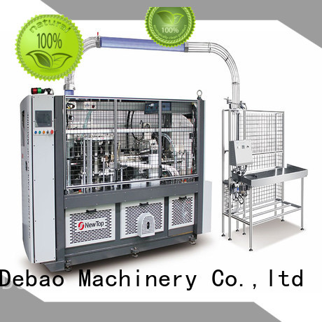 New Debao Machinery speed fully automatic paper cup machine for sale for paper cup