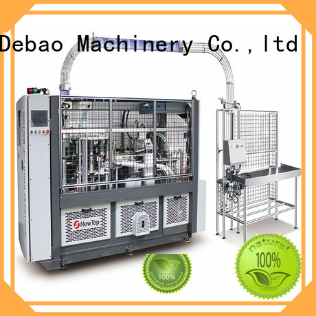 New Debao Machinery paper cup machinery manufacturing for coffee cup