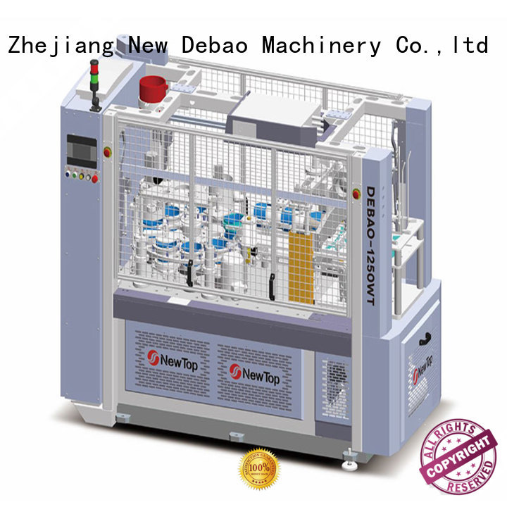 New Debao Machinery ripple wall paper cup machine factory for paper cup