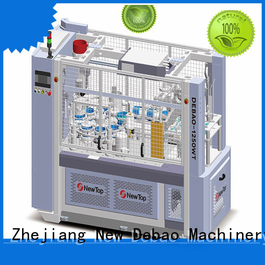 New Debao Machinery ripple ripple wall paper cup machine factory for super market