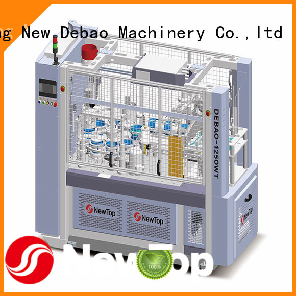 New Debao Machinery hollow double wall paper cup machine for sale for paper cup