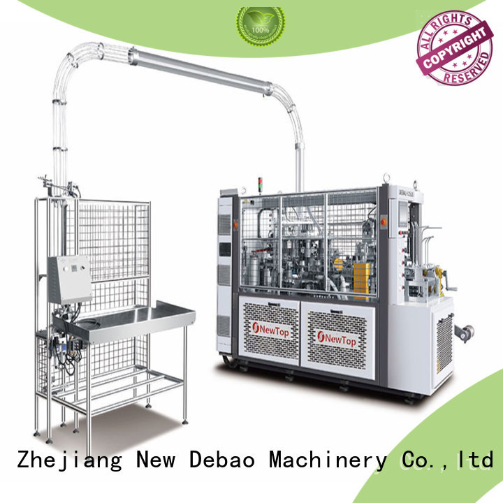 New Debao Machinery paper coffee cup making machine for sale for coffee cup