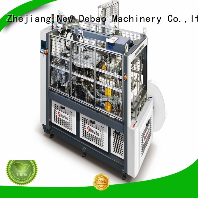 New Debao Machinery paper bowl machine price for coffee cup
