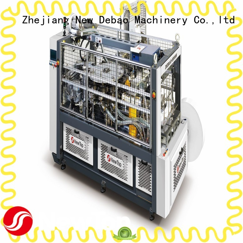 New Debao Machinery low cost paper cup making machine for sale for paper cup