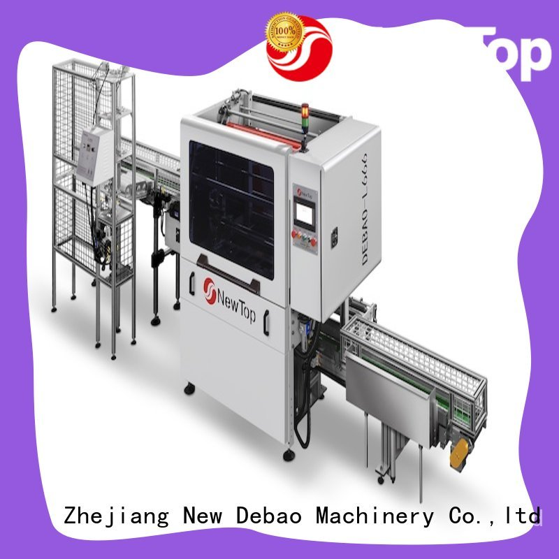 New Debao Machinery paper packaging machine for sale for super market