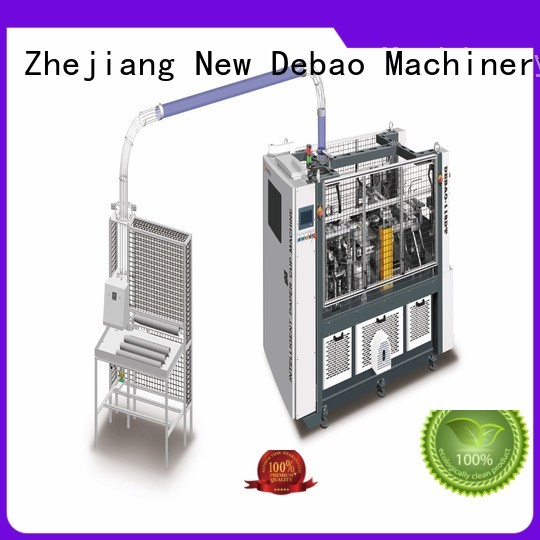 New Debao Machinery high paper bowl sleeve machine price for paper cup