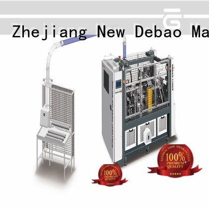 New Debao Machinery paper cup sleeve machine factory for coffee cup