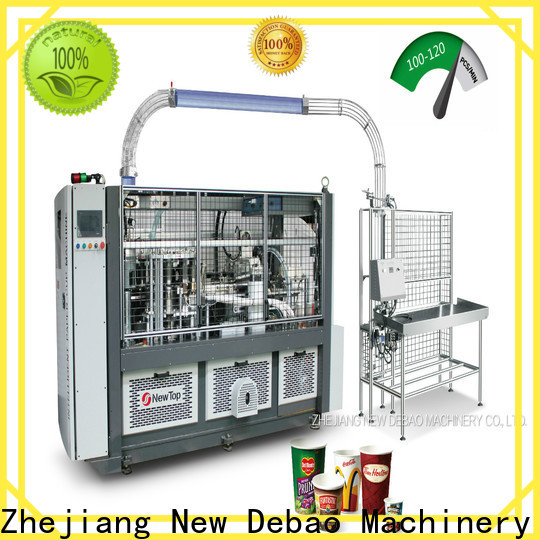 New Debao Machinery disposable cup making machine price for coffee cup
