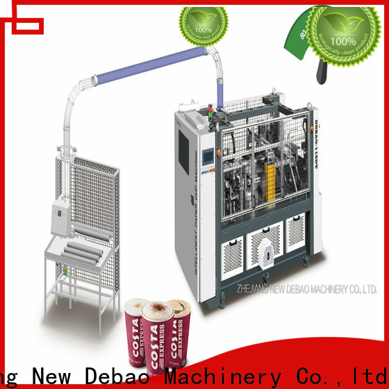 high double wall paper cup making machine factory for paper cup