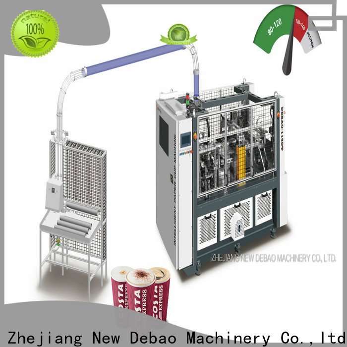 double wall paper cup making machine factory
