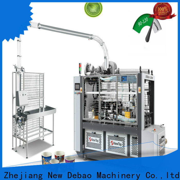New Debao Machinery paper tea cup machine price price for coffee cup