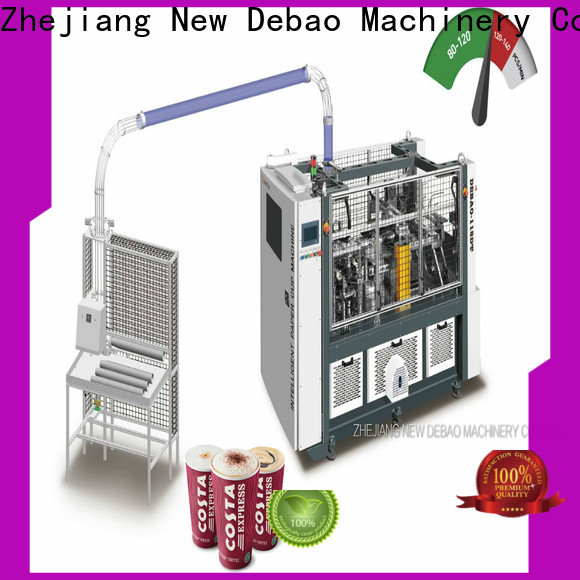 New Debao Machinery double wall paper cup making machine price for coffee cup
