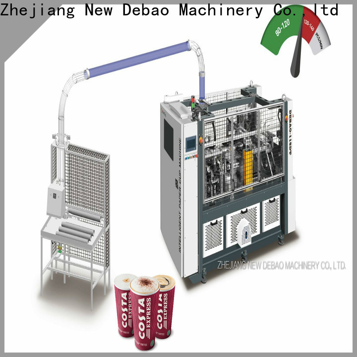 speed paper plate making machine with buyback agreement for business for coffee cup